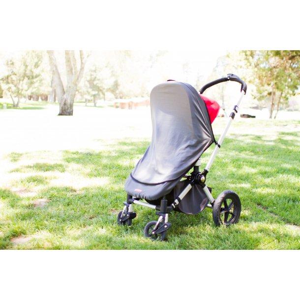 0f6ba0307 Myggenet til klapvogn og autostol med UV beskyttelse